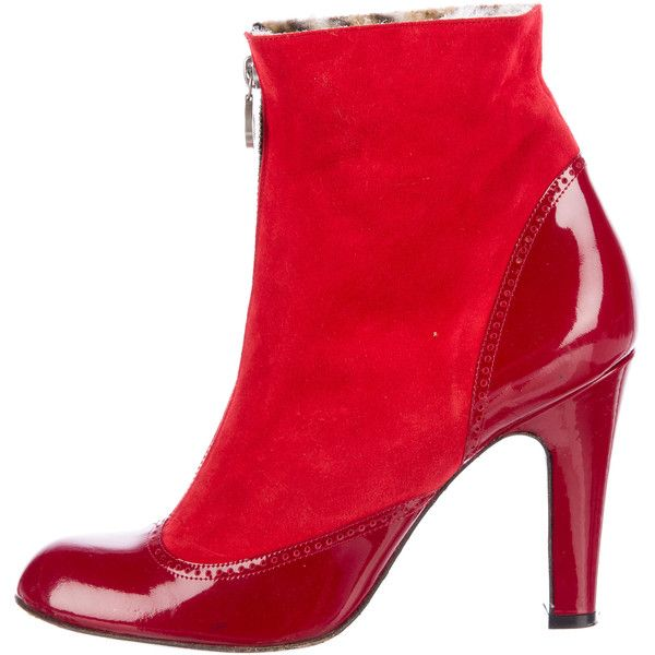 25 Best Ideas About Red Ankle Boots On Pinterest Gucci