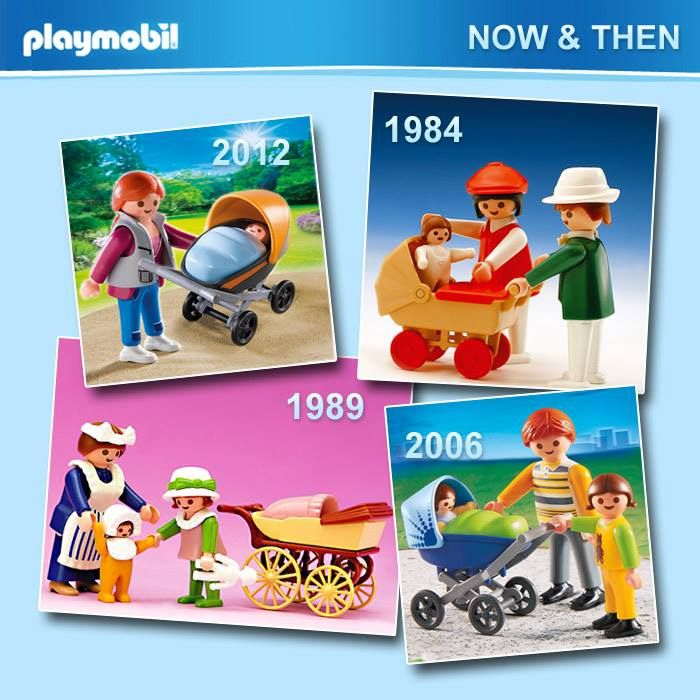 NOW AND THEN Μανούλες PLAYMOBIL!