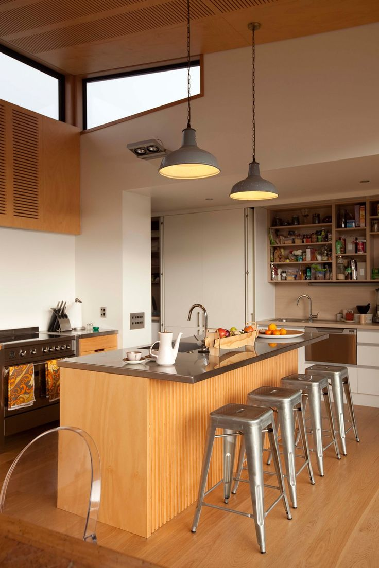 Kitchens: a Mount Maunganui kitchen with a hidden scullery - Homes To Love