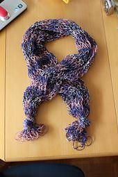 Ravelry: Bufanda Mágica Tubular (Magic Scarf) pattern by Esperanza Rosas