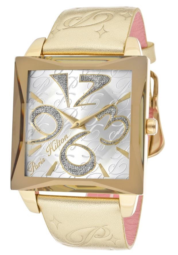Price:$79.00 #watches Paris Hilton PH13105MSG-04, With designs that embody the effortlessly chic and carefree nature of Paris herself, the Paris Hilton timewear collection offers trend setting designs to suit any occasion.