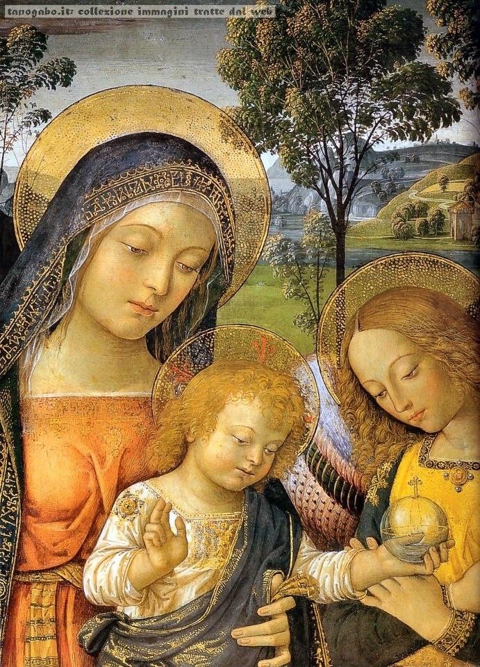 Pinturicchio - madonna della pace