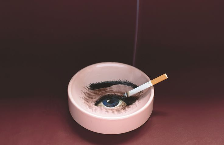 sublime tobacco – vintage smoking accessories by fornasetti