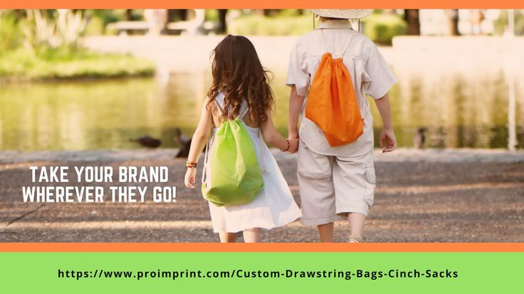 Custom Drawstring Bags - The Best Way To Make Your Brand Part Of The Lifestyle Of The Users! #custombags #promotionalitem #blogs