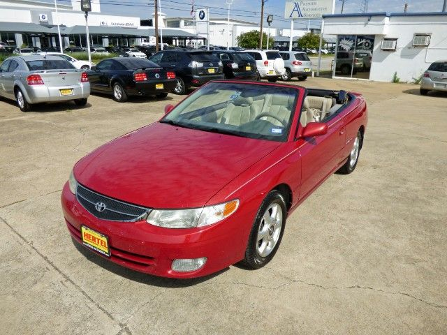 Seasonal Savings! Prices on Convertibles are Cheaper in the Fall & Winter. Come Drive This Sexy Red 2001 #Toyota #Camry #Solara SLE V6 #Convertible with Leather, Power Top, Upgraded Audio & a Clean CARFAX for Just $4,990! -- http://www.hertelautogroup.com/2001-Toyota-CamrySolara/Used-Convertible/FortWorth-TX/8278115/Details.aspx  #toyotacamry #toyotasolara #droptop #funcar