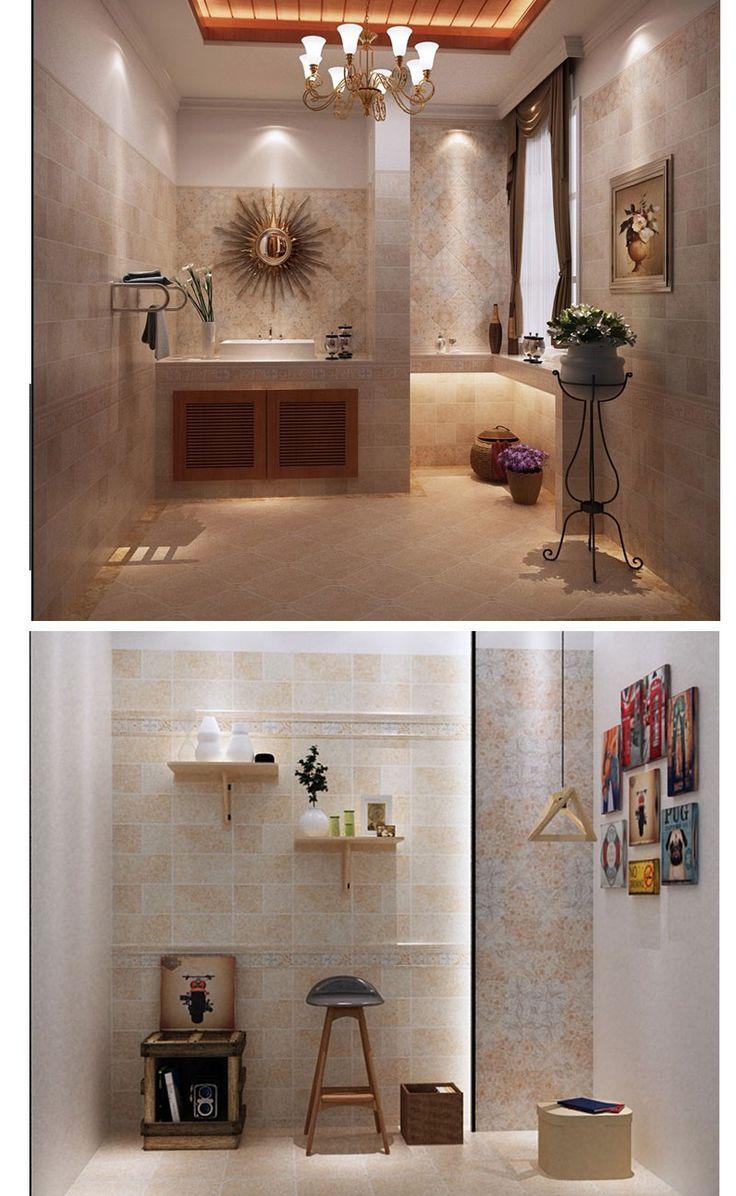 Bathroom Renovation Glazed Wall Tiles Colorful Texture Floor Tiles For Bathroom Bathroomtiles Tiles ไอเด ยห องน ำ