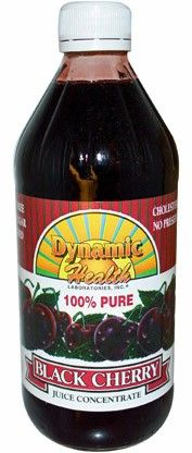 Dynamic Health Black Cherry Concentrate Antioxidant Drink