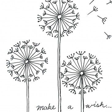 Dandelions (And lots of great how-to drawings for kids)