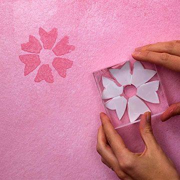 Técnicas de pintura que imitam o papel de parede