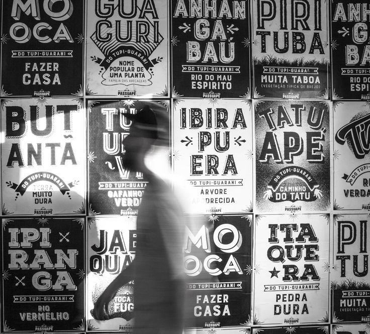 Projeto Passuapé: bairros de São Paulo viram lambe lambe | IdeaFixa