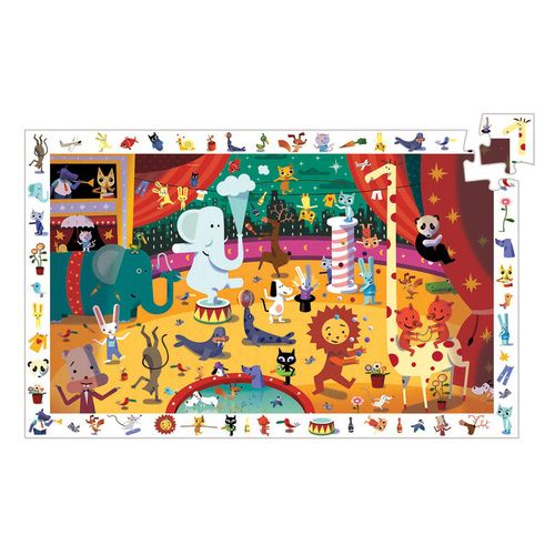Djeco - Circus Observation Puzzle 35pce
