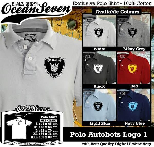 Polo Shirt - Polo Autobots Logo 1