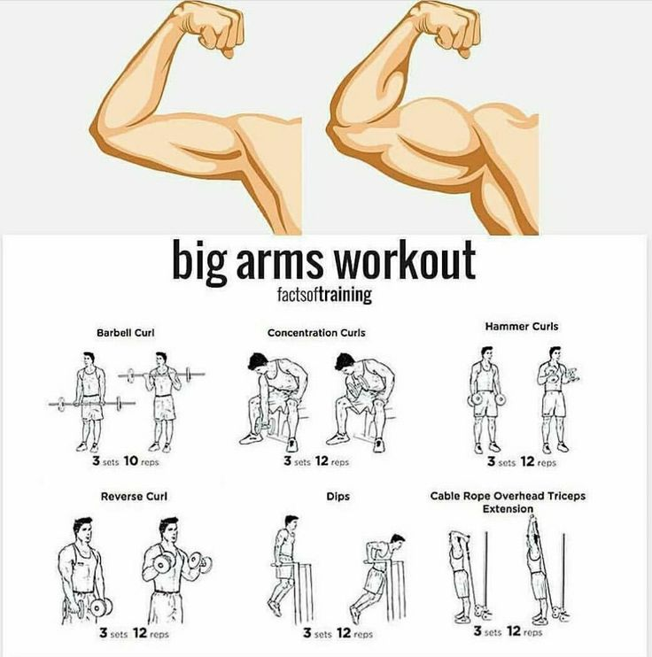 Pin by im_edgarz on Arms/Chest Workouts