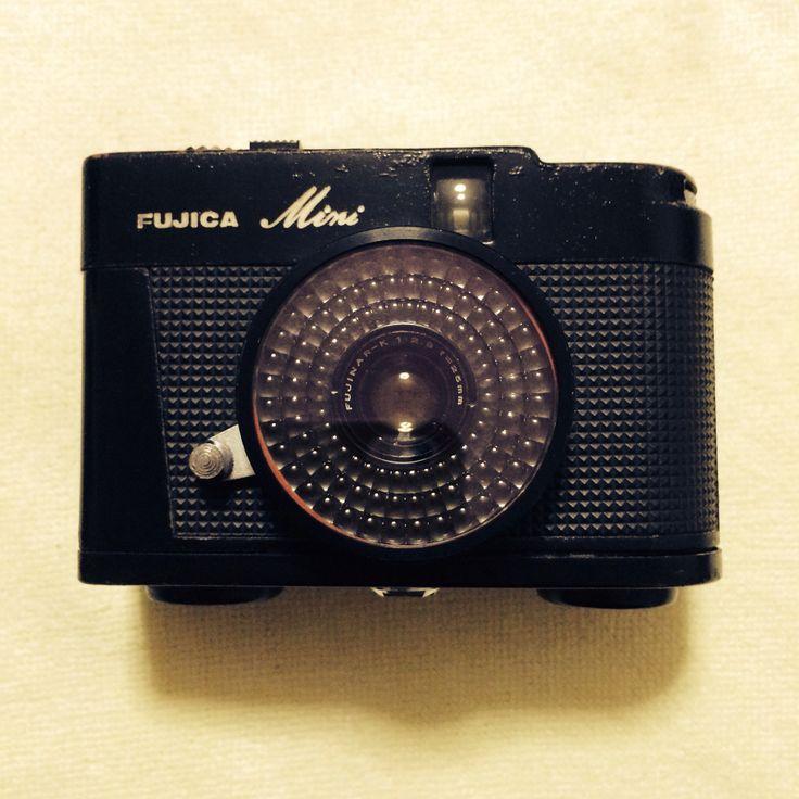 Fujica Mini, film camera フジカミニ、コンパクト・フィルムカメラ