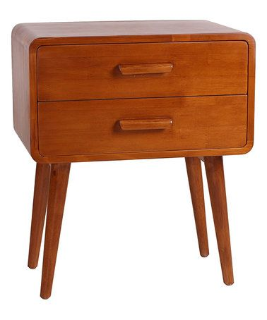 Look What I Found On #zulily! Natural Emorie Mid Century End Table #
