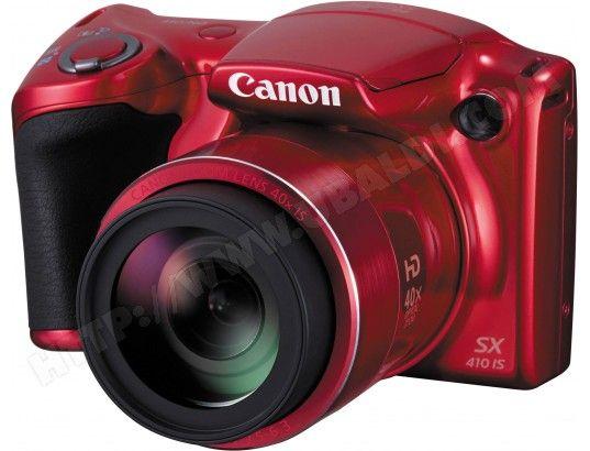 Appareil photo numérique bridge CANON PowerShot SX410 IS rouge
