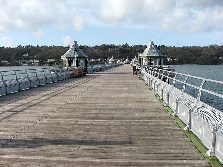 The pier at Bangor, Wales