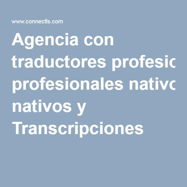 http://www.connectls.com/es/ - Agencia de traducciones técnicas profesionales - Agencia de traductores profesionales situada en Madrid especializada en todo tipo de labores de traducción e interpretación. Realizamos traducciones generales, traducciones técnicas, traducciones juradas y traducciones de páginas webs. Además, disponemos del servicio de transcripción y revisión gramatical.   #traducciones, #traductores, #nativos, #agencia, #profesionales