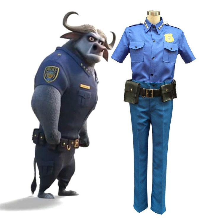 Movie Zootopia Chief Bogo Cosplay Costume Police Officer Uniform Cape Buffalo Police Costume Halloween Costume for Men Zootopia Costume Police Uniform Men Halloween Costume for Adult Online with 54.64/Piece on Meiyin2014's Store | DHgate.com