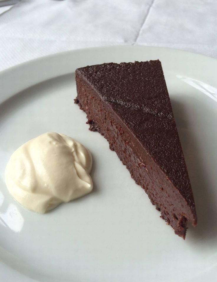 Chocolate Nemesis at RIVER CAFE WHY: Our food editor Victoria Stewart says this is glorious. 'Fudgey, gooey, dark, rich and deeply, deeply naughty — and there's no need for more than one slice.' PRICE: £10 FIND IT: rivercafe.co.uk