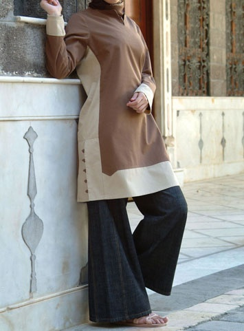 Contrast Tunic--a total classic.