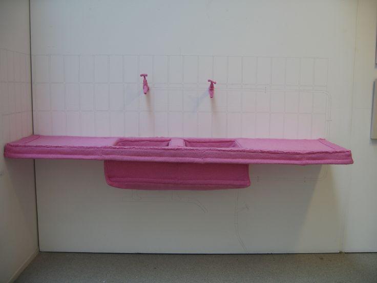 Desiree de Baar Knitted Kitchen http://www.desireedebaar.nl/pages/knitted-sculptures.php#
