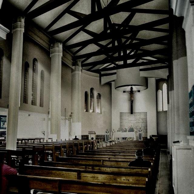 San esteban church by Dek-O