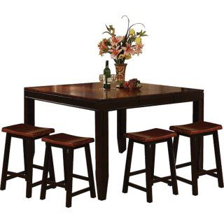 [Zara 5-Piece Counter-Height Dining Package with Barstools]