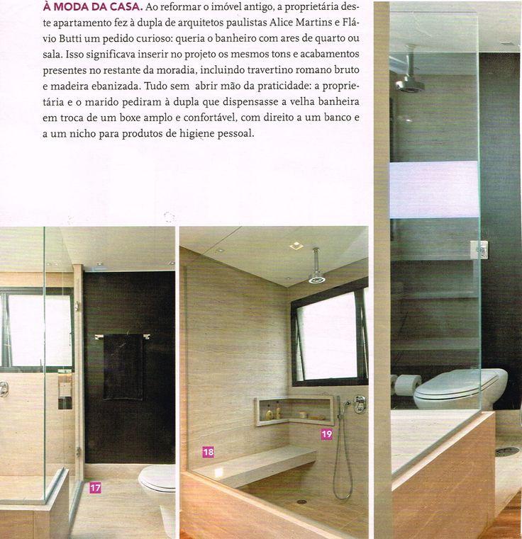 110 best images about Lavabos e banheiros on Pinterest  Madeira, Cuba and Tr -> Nicho Para Shampoo Banheiro