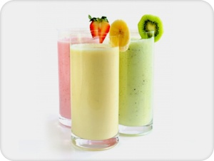 Fruit Smoothie:  Add 1/2 cup of fruit juice  7 strawberries, 5 peach slices, a few sprigs of fresh mint  4 tablespoons of any FUTURELIFE® flavour  125ml low fat yoghurt  A handful of ice cubes to your blender. Blend until smooth.