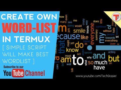 Termux 16: Make own