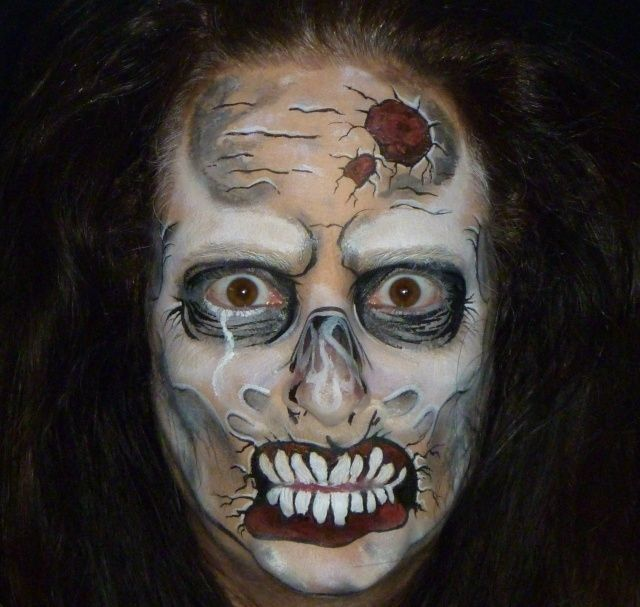 156 Best The Walking Dead Images On Pinterest | Halloween Ideas Halloween Makeup And Zombie ...