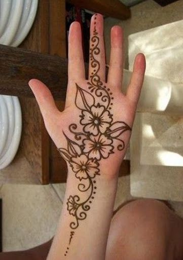 Easy Mehndi Patterns To Copy : Best images about henna tattoo designs on pinterest