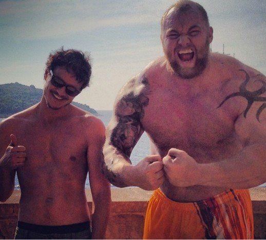Pedro Pascal & Hafpor Julius Bjornsson Talk EPIC Game of Thrones Fight!