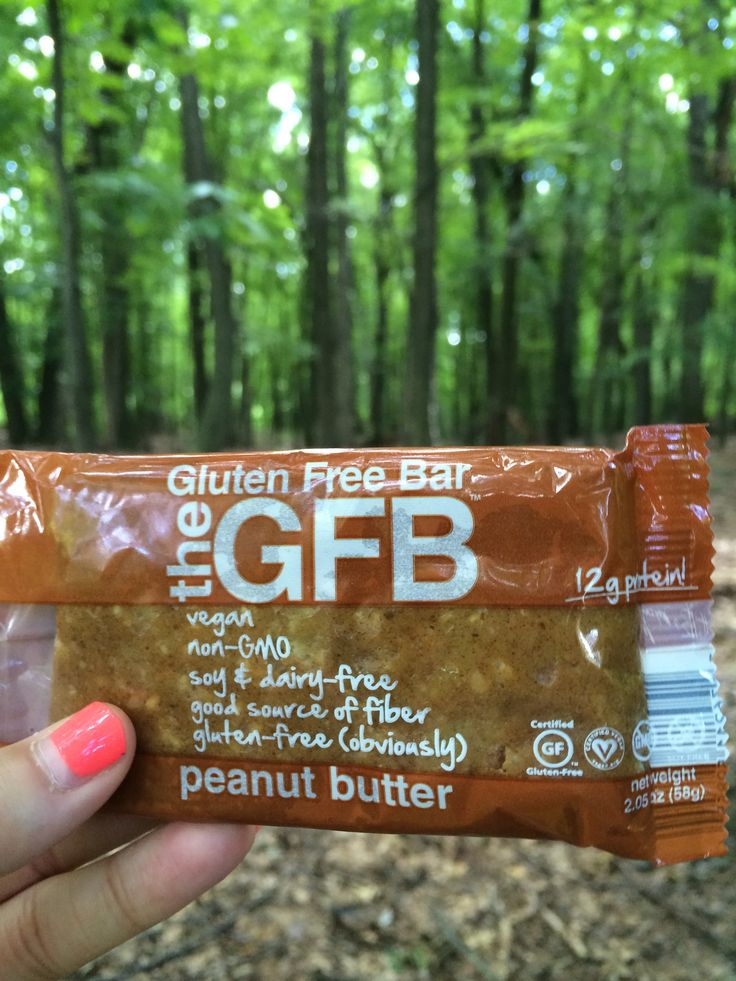 If You're A Peanut Butter Lover, This Bar Is For You! The GFB Peanut Butter Crunch!!! MMM theglutenfreebar.com