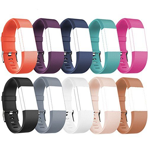 For Fitbit Charge 2 Bands Charge2 Replacement Accessories Pack of 10