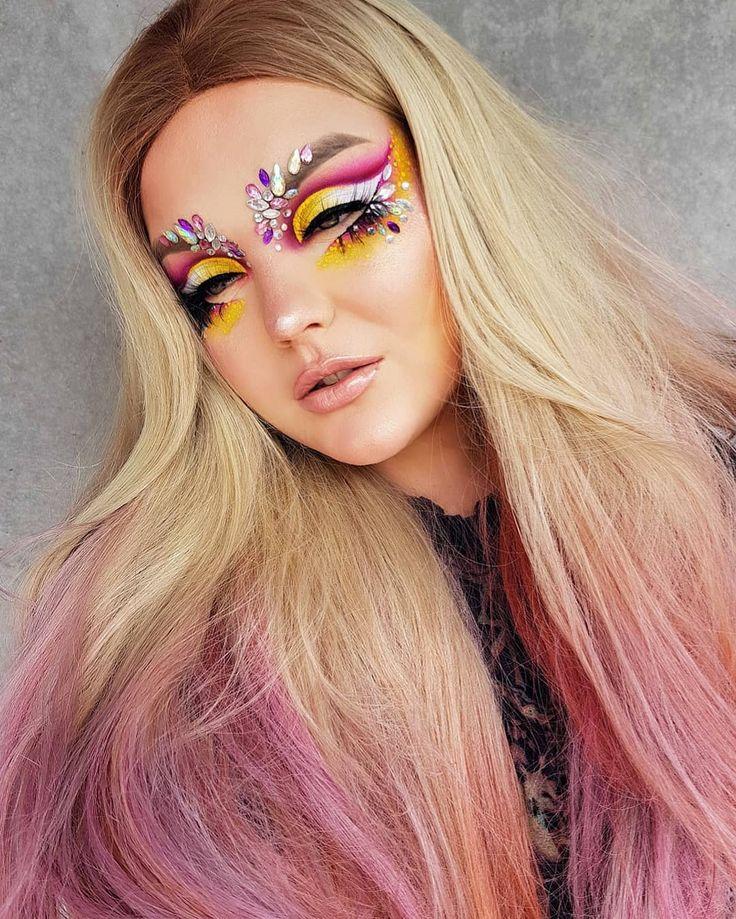 D r a g o n f r u i t  D E T A I L S ▪HAIR》 L'Oréal Hair Colorista Hair Ma...