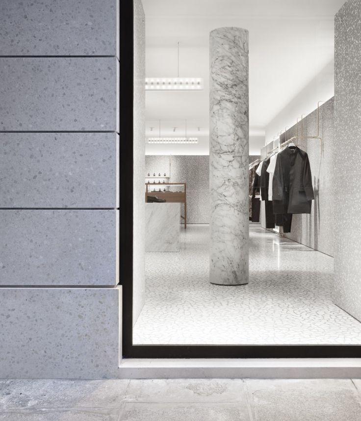 David Chipperfield Architects – Valentino Man Store.
