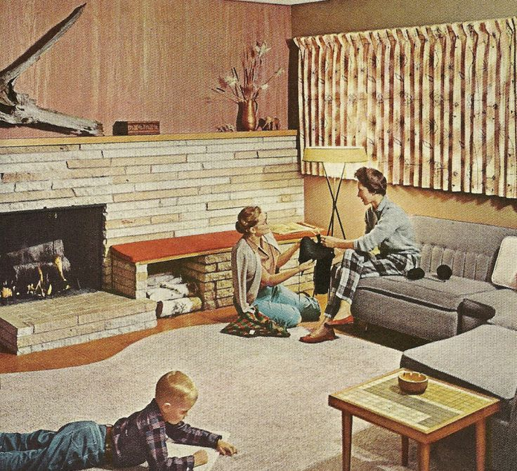 1000 images about 60s living room reference on pinterest for Home decor 1960s