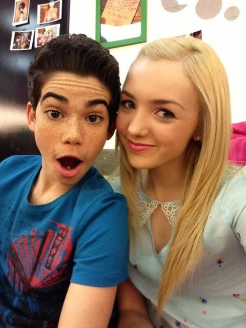 Is Peyton list DATING cameron Boyce?! caught these two at ice cream shop