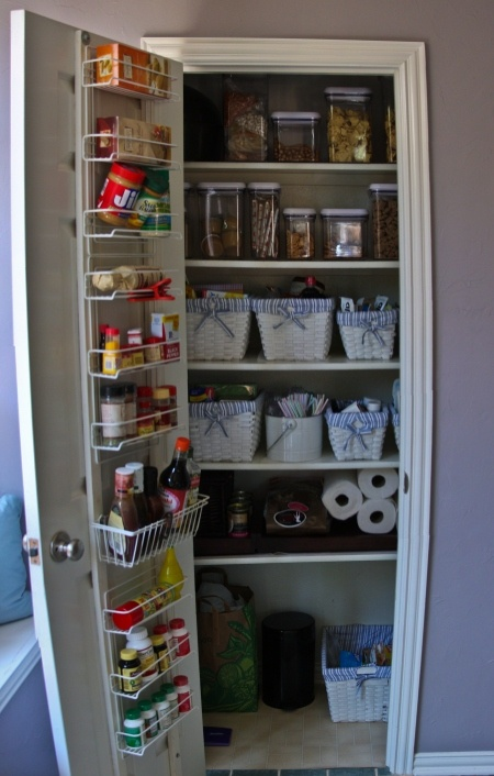 Images maximize space the doors and small pantry Maximize kitchen storage