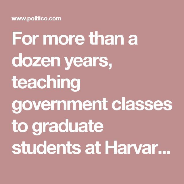 """For more than a dozen years, teaching government classes to graduate students at Harvard and Princeton, I filled my students' heads with facts that no longer seem to be true. They have become """"alternate facts,"""" or perhaps just outdated ones."""
