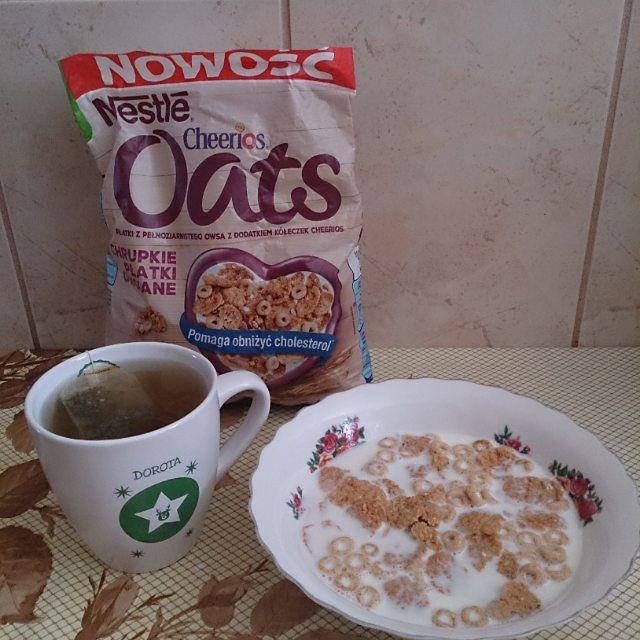 Pyszne śniadanko z płatkami cheerios :)  #CheeriosOats #ChrupkiePlatkiOwsiane #Streetcom #owsiane #Nestle #płatkiowsiane #cynamon https://www.instagram.com/p/-E8Ndftbjm/