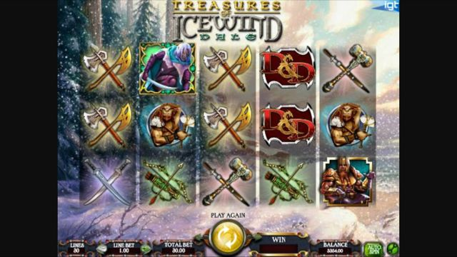 Dungeons & Dragons Treasure of Icewind Dale | IGT