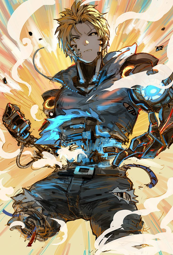 one punch man genos - photo #20