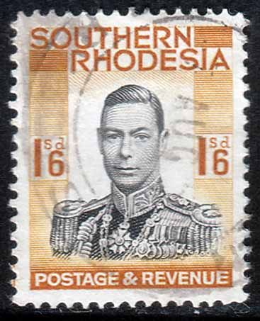 Southern Rhodesia 1937 George VI Head SG 49 Fine Used SG 49 Scott 51 Other British Commonwealth Stamps to see here