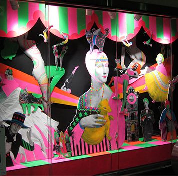 LUMINE meets ART AWARD by yuko kanatani #windowdisplay #art #japan