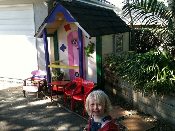 cute kids cottage - cheap trade me play house brought to life