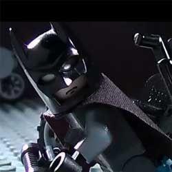 Wow, the complete Batman trailer in a Lego version.Dark Knight