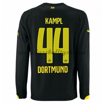 Bundesliga Fussball Trikots BVB Borussia Dortmund 2016-17 Kampl 44 Auswärtstrikot Langarm